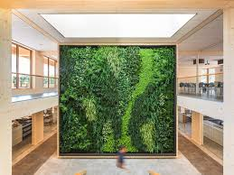 office greenery. Beautiful Greenery This Netherlands Office Combines Greenery And High Ceilings With Solar  Panels Abundant Natural Light Photo Courtesy Of Geelen For Office Greenery