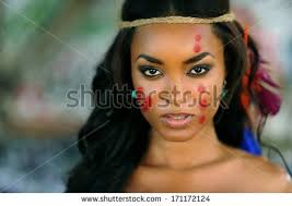 native american indian makeup photo 1