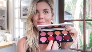 the organic skin co pro palettes tutorial