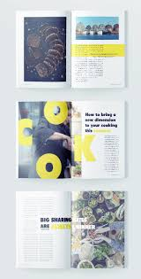 Indesign Magazine Stylish Food Magazine Template For Indesign Free Download