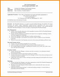 Fashion Merchandising Resume Templates Inspirational Retail Manager