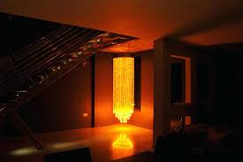 chandeliers fiber optic chandelier lighting manufacture and design orange colored india