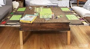 diy gamers coffee table