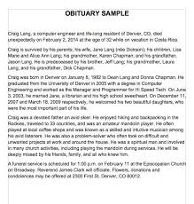 Newspaper Obituary Template 25 Obituary Templates And Samples Template Lab Science
