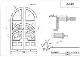 open double door open double door drawing71 drawing