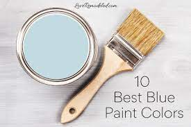 the 10 best blue paint colors from