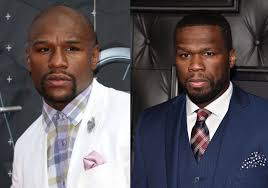 Image result for Mayweather and 50Cent