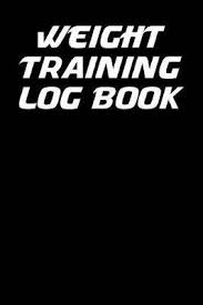 Weight Training Log Book 6x9 Fitness Journal With One Rep Bench Press Chart And Blank Lined Paper