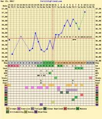 Sample Bbt Chart Showing Ovulation Bbt Charts Which Were A Bfp Getting Pregnant Babycenter