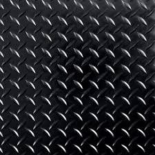 g floor raceday diamond tread midnight black 12 in x 12 in l
