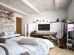 Home Designs: Artsy Bedroom Design - Artist Loft Design