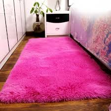 pink fluffy rugs — room area rugs  warm and elegant fluffy rugs