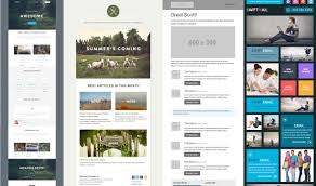 Newsletters Templates 5 Responsive Newsletter Templates Mdirector Com