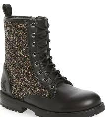 Sam Edelman Polly Quinn Glitter Boot Youth Size 4/Women's Size 5.5 | eBay