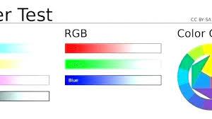 Color Laser Printer Test Page Canon Color Printer Test Page Hp