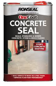 Ronseal Concrete Seal Clear Concrete Seal 5L | Departments | DIY at B&Q