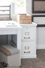 wood file cabinet white. Contemporary Cabinet How To Paint A Filing Cabinet By The Wood Grain Cottage Inside File White G