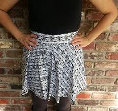 Handmade Skirt Size Chart Amazon Com Storm Trooper Star Wars Vintage Style Circle