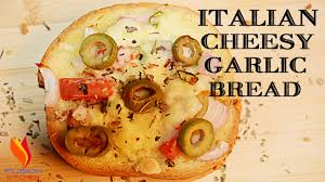 Italian Cheesy Garlic Bread Garlic Bread Cheese Bread Italian