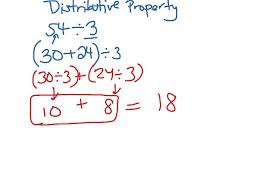 distributive property math arithmetic distributive property showme