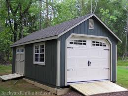 Pinterest 12u0027x20u0027 Garden Shed Garage With Transom Double Doors Gable Vents Ramps  And Heritage Door