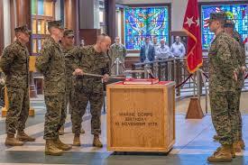 United States Marine Officer Fort Leavenworth Marine Detachment Commander Sacked