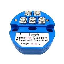 Pt100 Range Chart Temperature Transmitter Pt100 E K S B T J N R Type