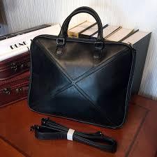 etonweag famous brands cow leather briefcases men messenger bags black luxury cross shoulder bags vintage lawyer