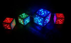 Minecraft Led Light Minecraft Orecube Ledlight By Specbut Thingiverse