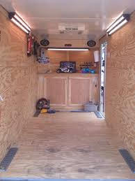 photos of in floor trailer storage