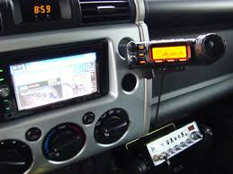 cb radio install toyota fj cruiser forum an no it does not interfere a passenger