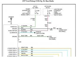 1997 ford f150 radio wiring diagram the best wiring diagram 2017 1996 ford f150 ignition wiring diagram at Wiring Diagram For 1996 Ford F150
