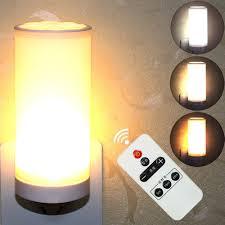 220V Dimmable LED <b>Night Light</b>, <b>Wireless Remote</b> Control Night ...