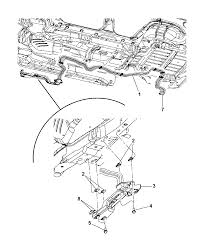 2006 jeep mander underbody a c heater lines diagram i2119554