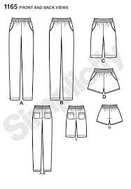 Pants Patterns Awesome Simplicity 48 Misses' Pullon Pants Long Or Short Shorts