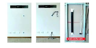 hide cables on wall in kit mounting tv hiding wires mount flat screen how to