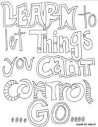 Teen Quote Coloring Pages Only Quotes Pinterest