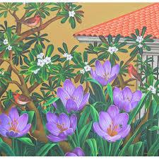 <b>Картина</b> «<b>Flower garden</b>» (Импрессионизм, Цветы): <b>художник</b> ...