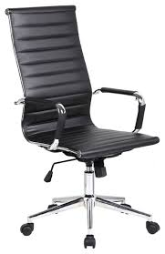 office chairs photos. simple chairs executive ergonomic high back office chair ribbed pu leather black  contemporaryofficechairs intended chairs photos s