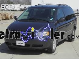 testing tail light wires on a 2005 chrysler town and country to trailer wiring harness installation 2007 chrysler town and country
