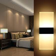 Wall Light Bedroom Modern Led Lamp Home Lighting Bedside Sconce Living Ikea