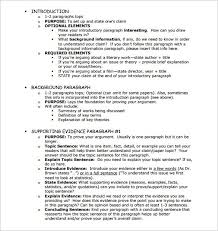 outline of essay example com  outline of essay example 5 template 25 sample format