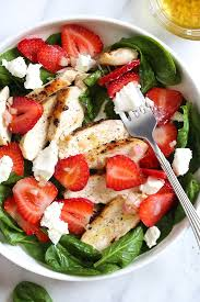 grilled chicken salad with strawberries. Exellent Grilled Grilled Chicken Salad With Strawberries And Spinachu003d 5 FS  JanMur Copy  Me That With S