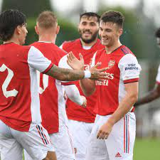 Arsenal friendly as Celtic hero hammers ...