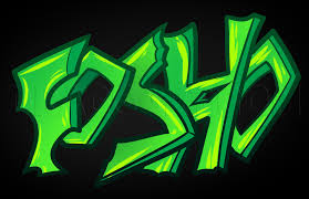 how to draw graffiti for kids step by