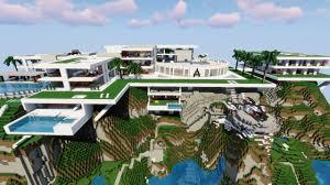 Big Minecraft House Designs Modern Houses Minecraft