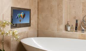 tv in bathroom. proofvision waterproof bathroom tv 32\ tv in h