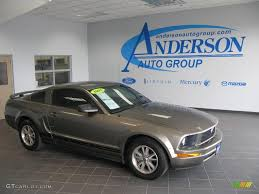 2005 Mustang Color Chart 2005 Mineral Grey Metallic Ford Mustang V6 Premium Coupe