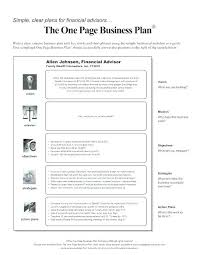 simple one page business plan template strategic planning outline it plan template one page doc