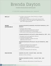 Food Service Resume Example Templatehronological Samples